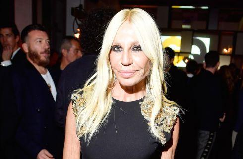 Donatella Versace dice no alle pellicce
