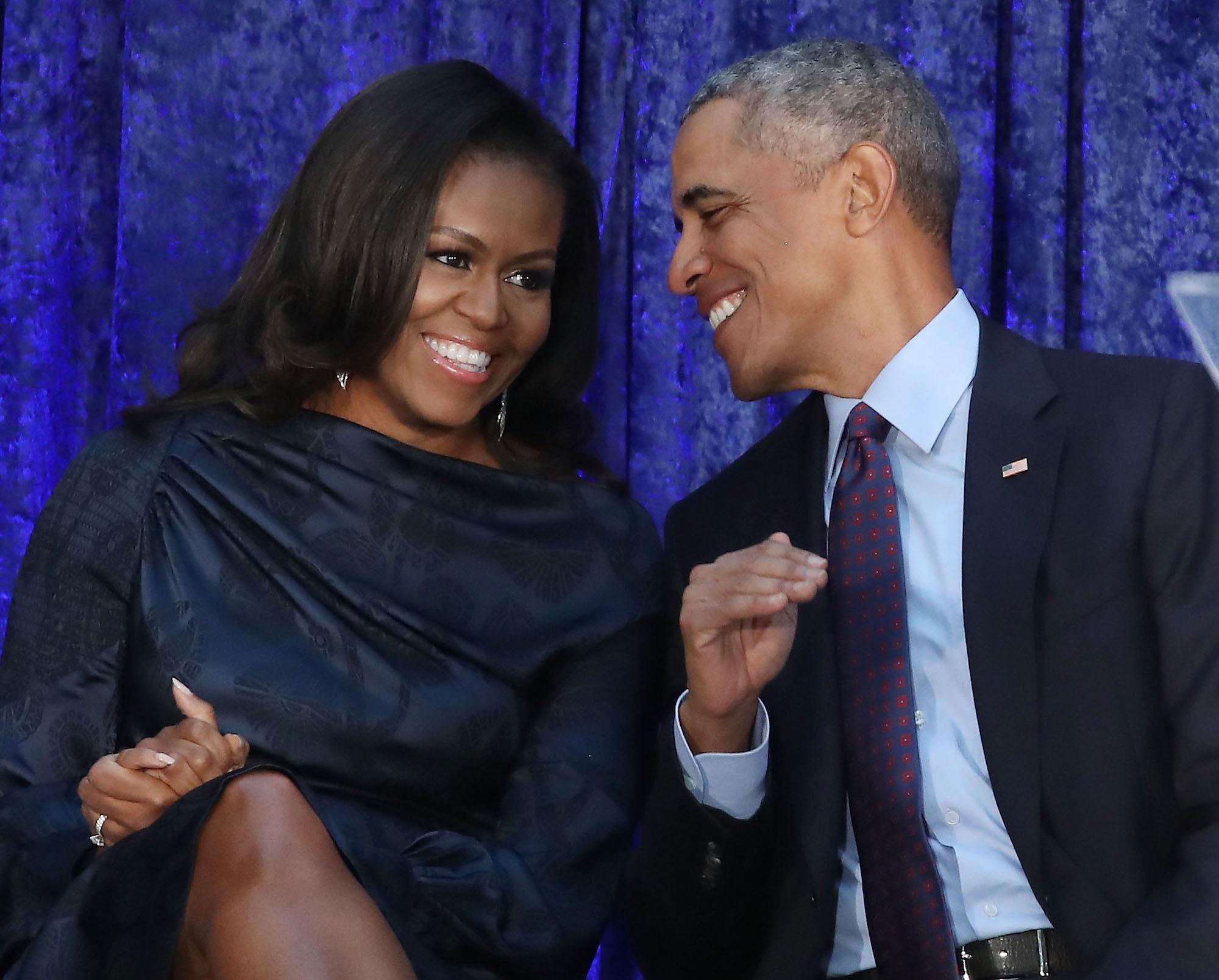 Gli Obama ospiti dei Clooney
