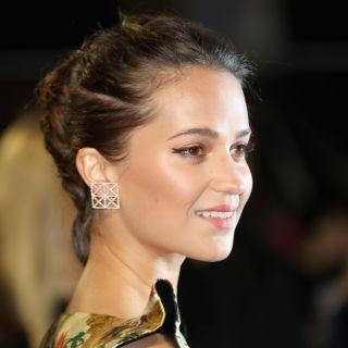 Il beauty look di Alicia Vikander