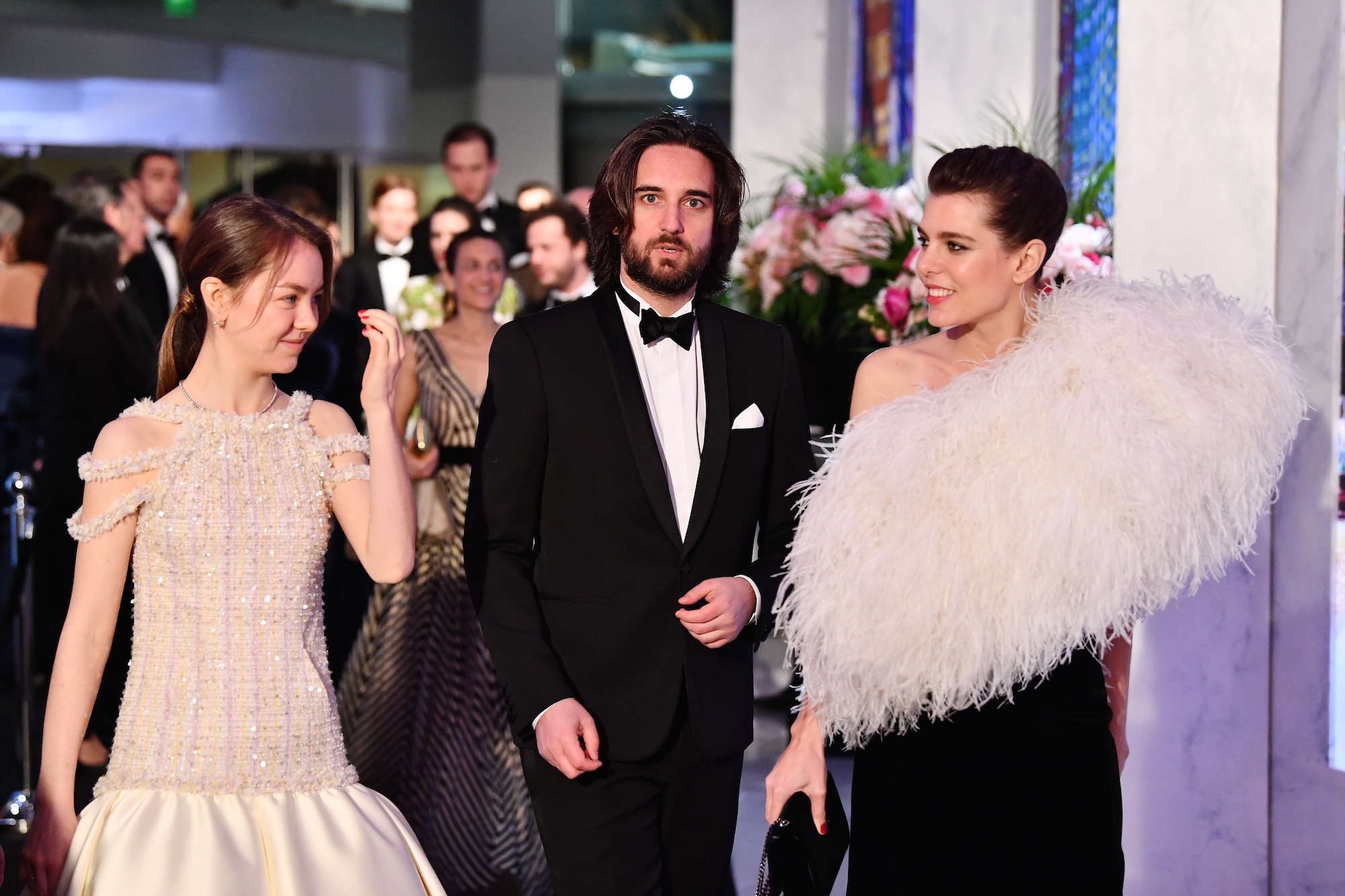Il beauty look di Charlotte Casiraghi