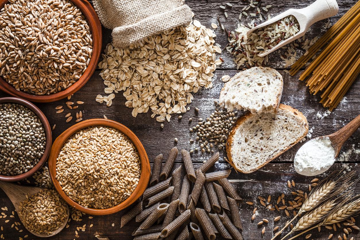 cereali alimenti ricchi di fibre