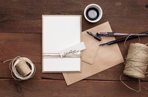 Inviti di matrimonio: 5 idee shabby chic