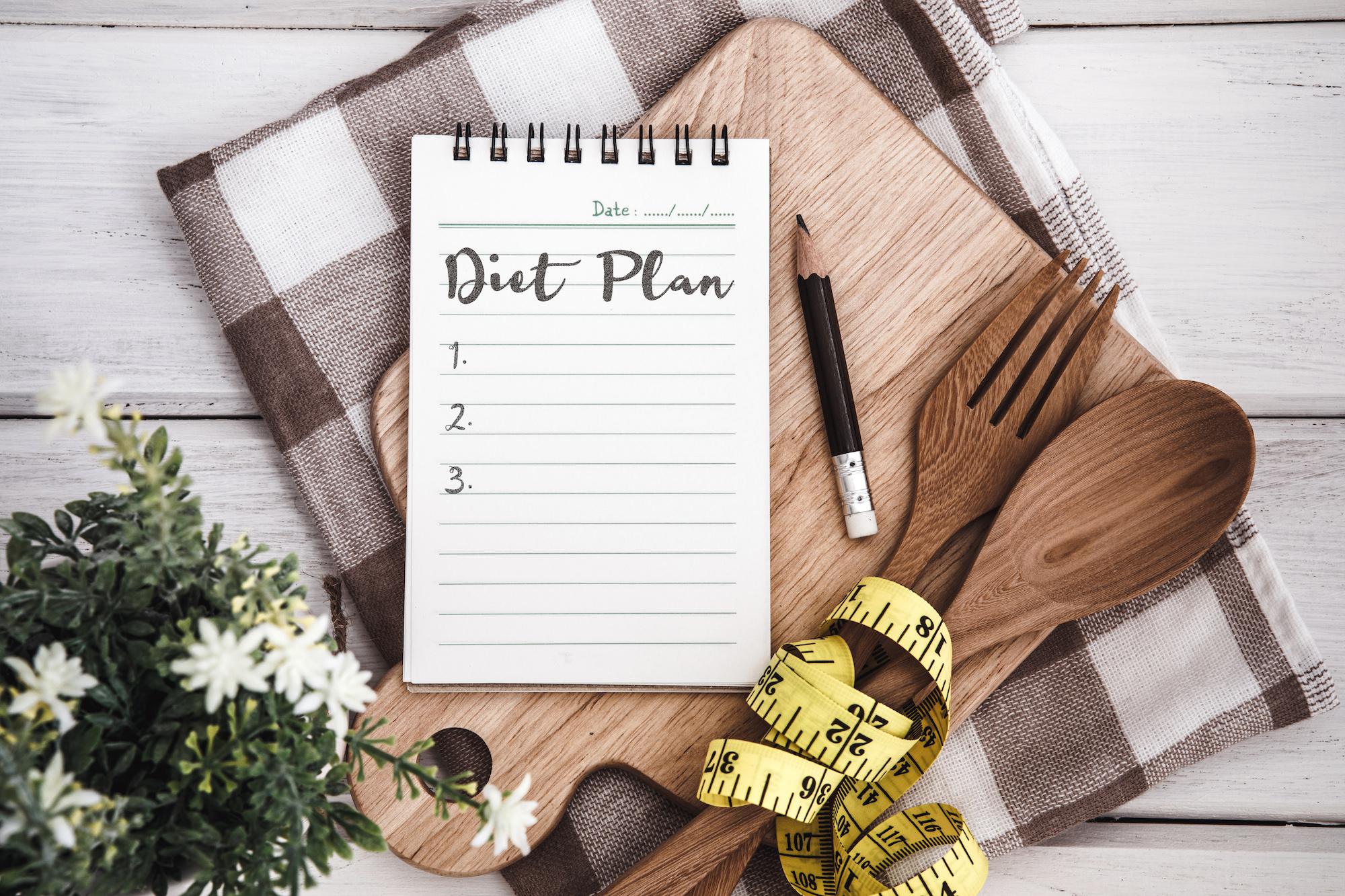 dieta plank menu settimanale