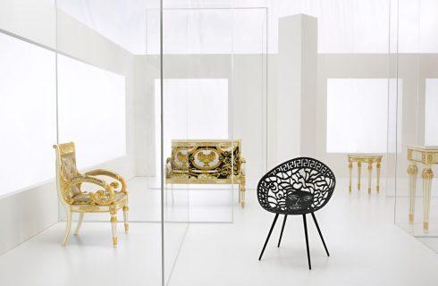La nuova collezione Versace Home al Salone del Mobile 2018