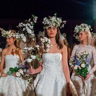 NY Bridal Week: la sfilata di Reem Acra