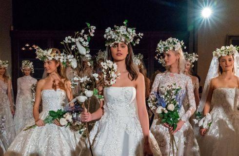 Reem Acra: la collezione Spring 2019 di abiti da sposa