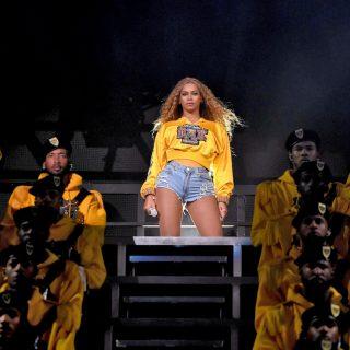 Il beauty look di Beyoncé