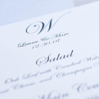 Matrimonio, il menu a base di pesce