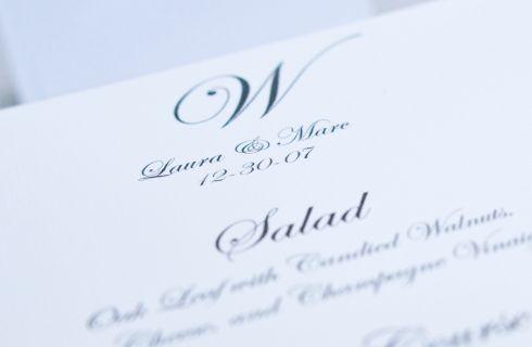 Menu di matrimonio: le proposte che profumano di mare