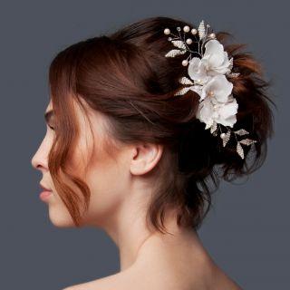 7 acconciature da sposa per i capelli corti