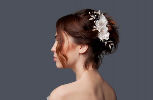 7 acconciature da sposa per capelli corti