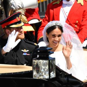 L'abito da sposa di Meghan in mostra a Windsor