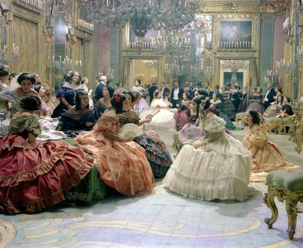 Una scena del Gattopardo di Luchino Visconti