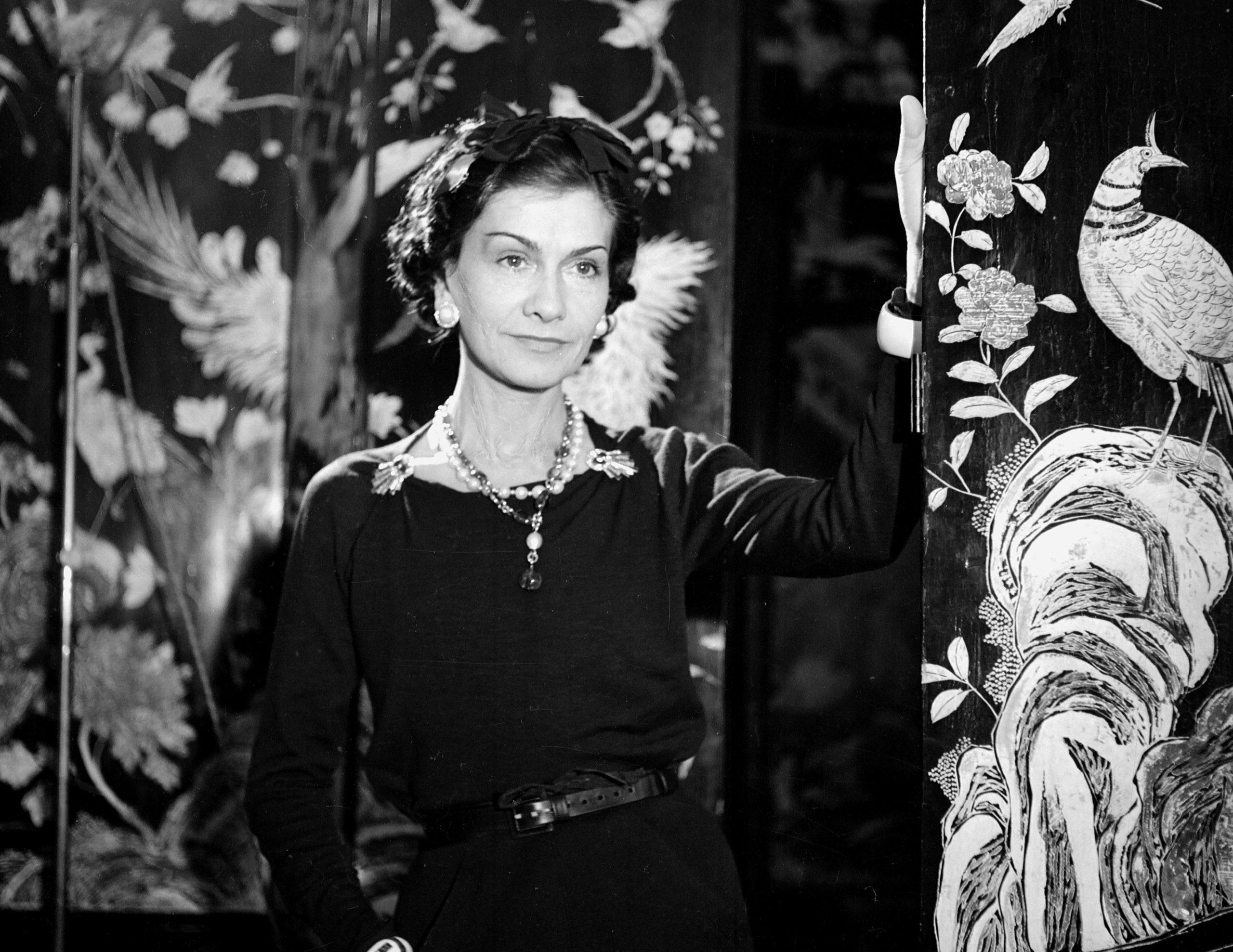 Coco Chanel nel 1937