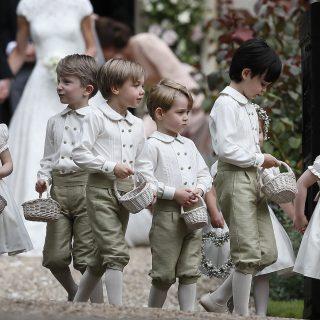 Royal wedding: ecco i paggetti degli sposi