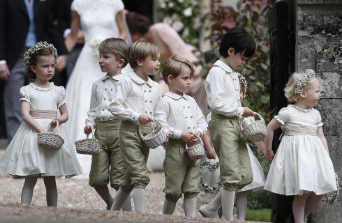 Royal wedding: ecco chi saranno i paggetti degli sposi