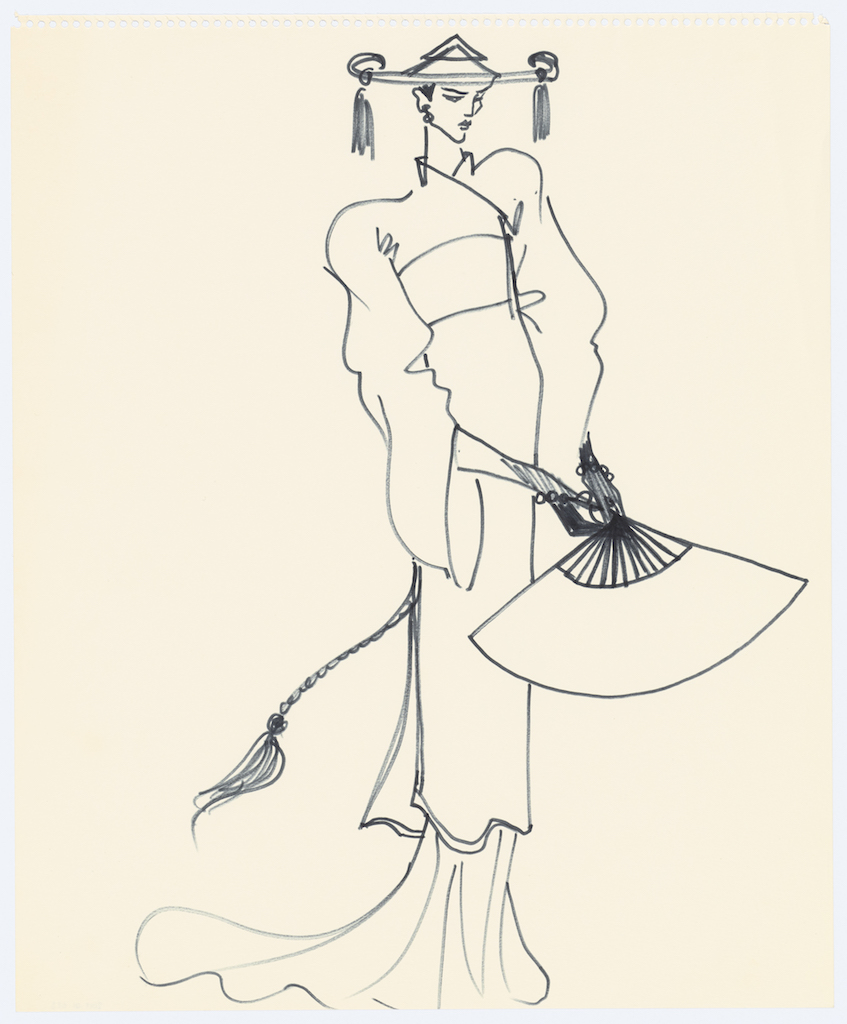 L'Asie rêvée d'Yves Saint Laurent al museo di Parigi, la gallery