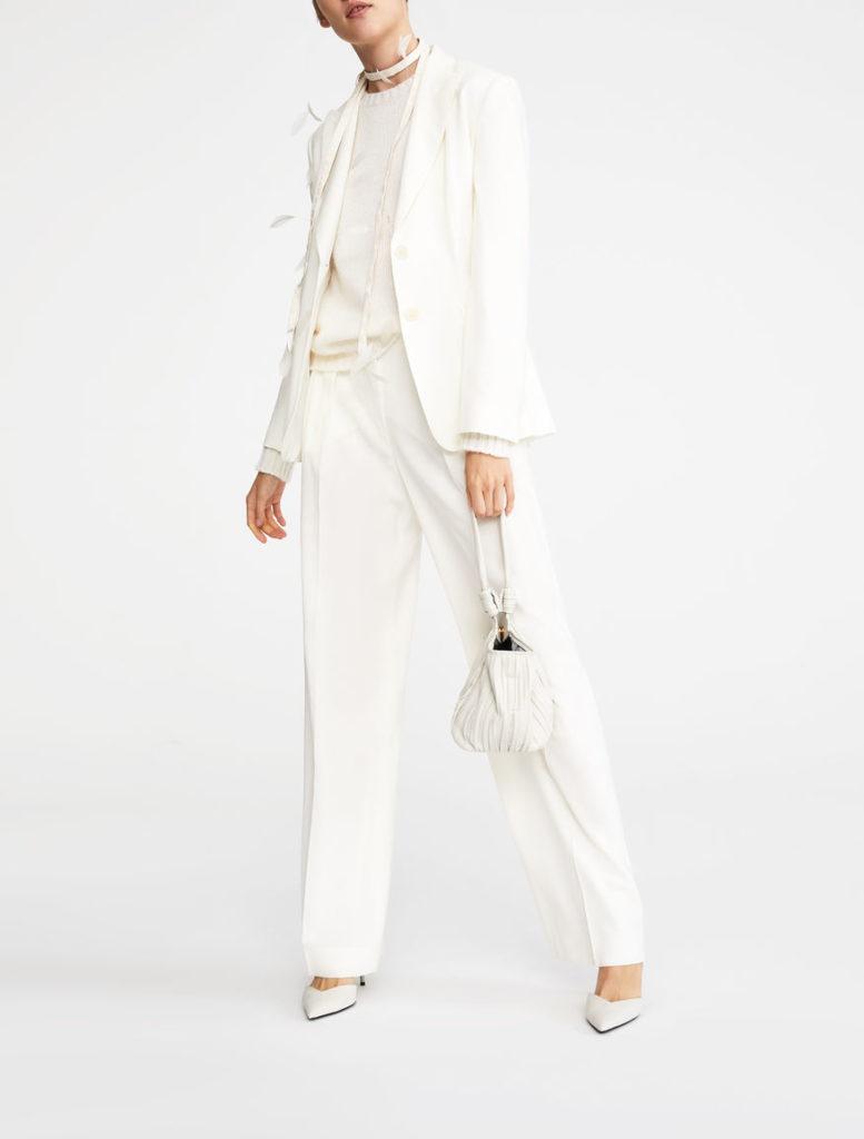 Tailleur pantalone bianco di Max Mara