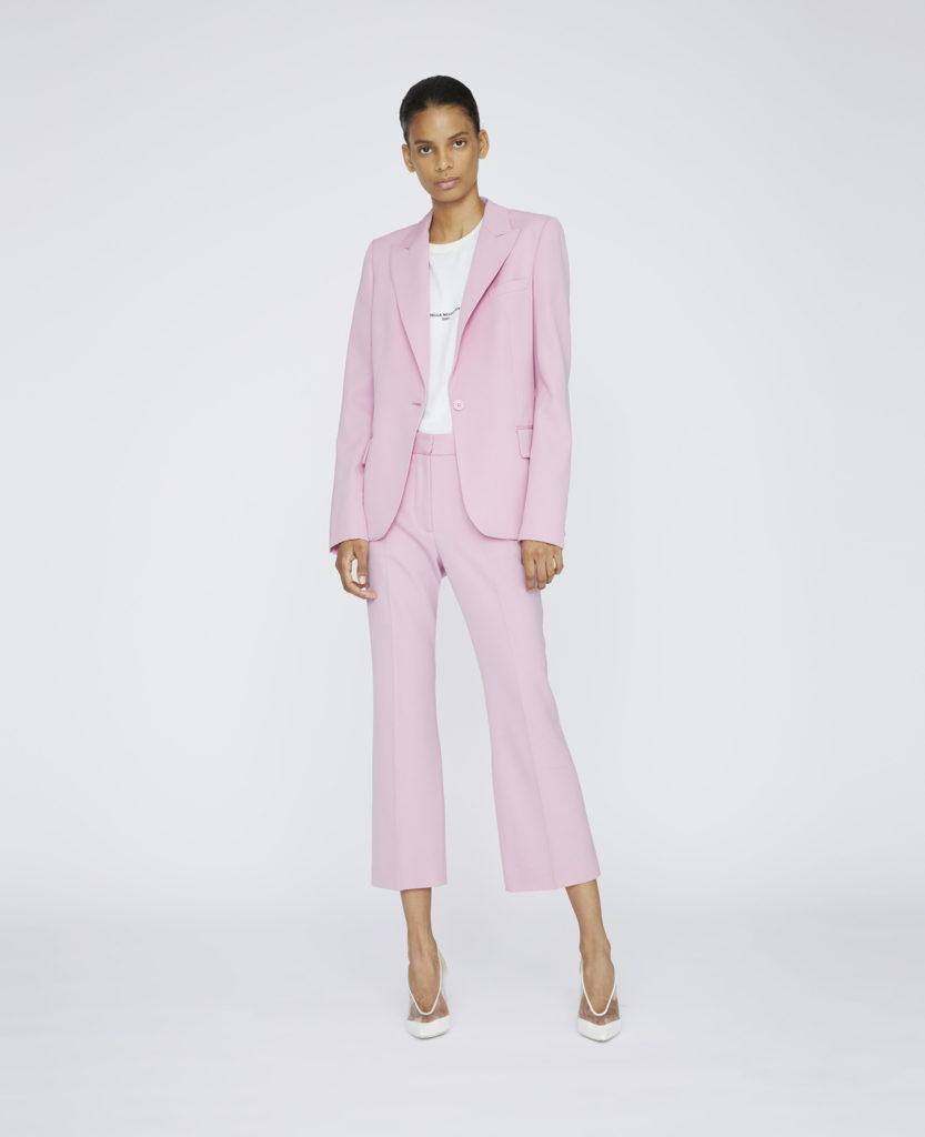 Tailleur pantalone rosa di Stella McCartney