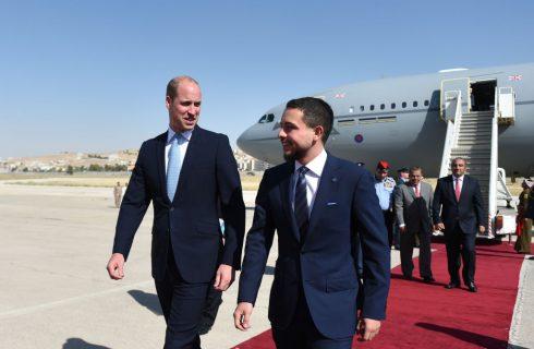 Il principe William ritrova lo scatto di Kate Middleton da bambina in Giordania