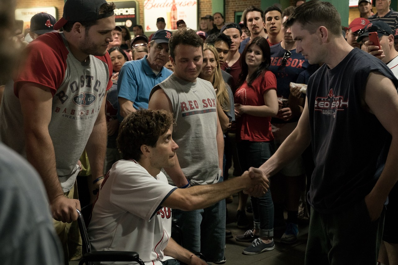 Stronger. Io sono più forte, le foto del film con Jake Gyllenhaal