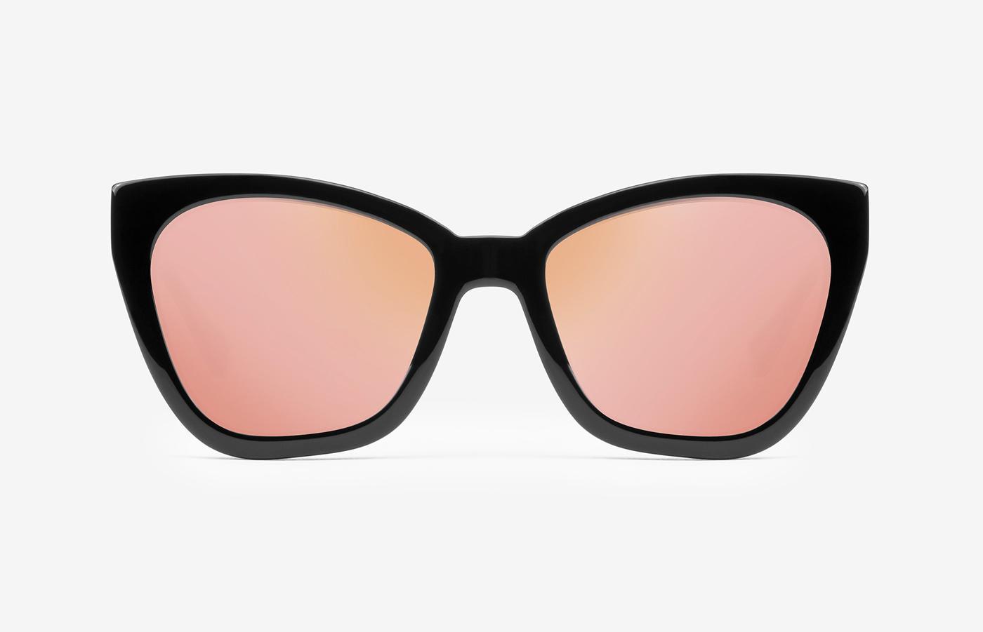 8963aaec90 ... un design rock chic: la classica lente dalla cornice quadrata è stata  reinterpretata, con un tocco cat eye, in toni sofisticati e discreti (34,95  euro).