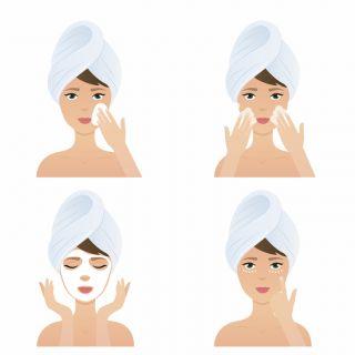 La beauty routine per idratare viso e corpo