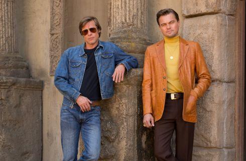 Leonardo DiCaprio e Brad Pitt nel film di Tarantino: la prima foto