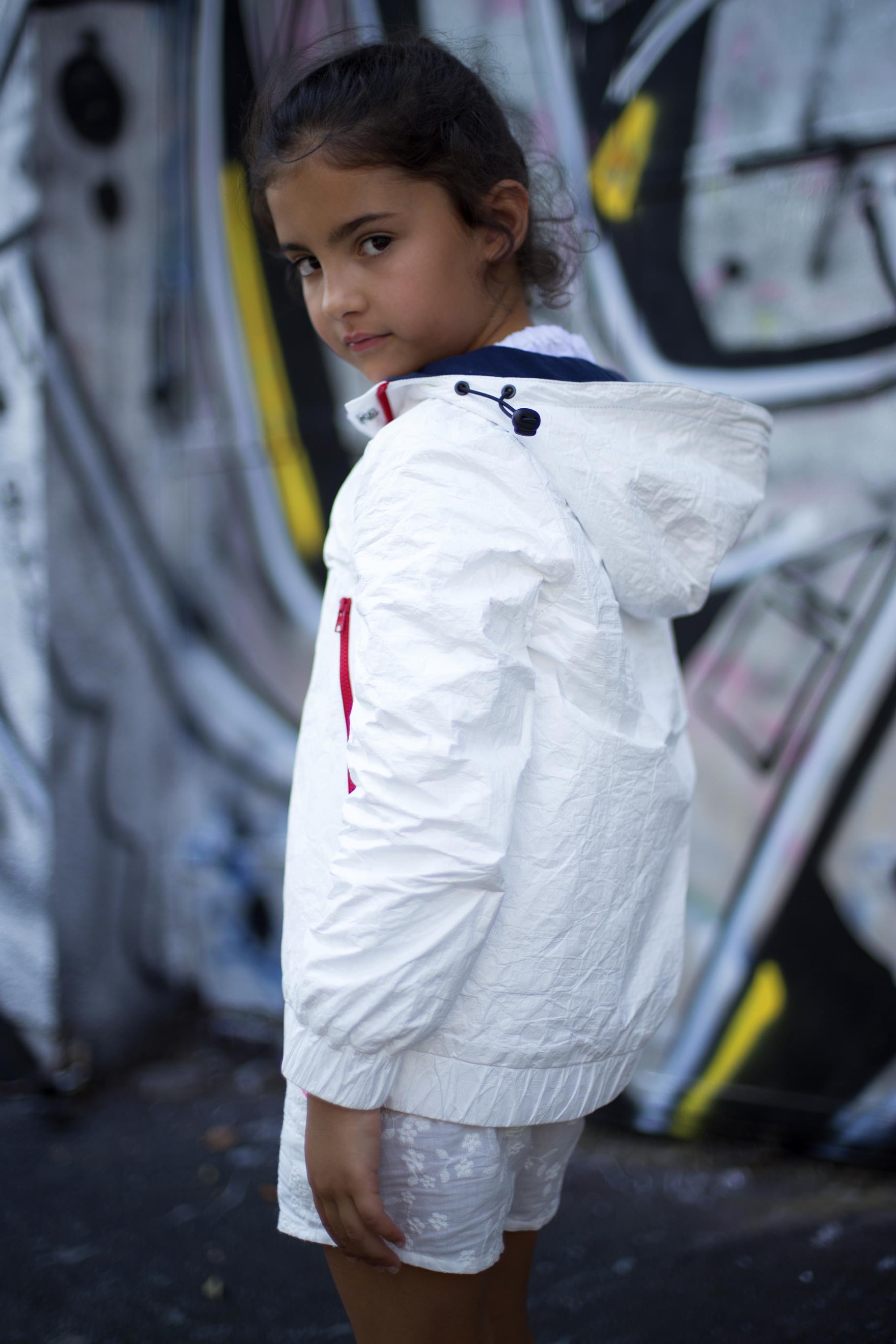 Mia Bu Milano, arrivano le giacche reversibili Out of law per bambini e ragazzi, le foto