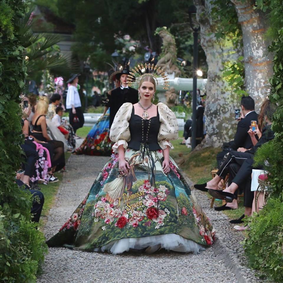 Dolce & Gabbana e l'Alta Moda sul Lago di Como, le foto