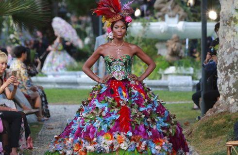 Dolce & Gabbana portano l'Alta Moda sul Lago di Como
