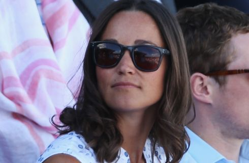 Pippa Middleton: look premaman a Wimbledon