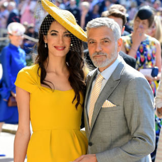 George e Amal possibili padrini del Royal Baby