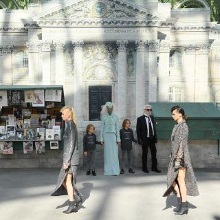 Chanel e il rigore rockabilly di Karl Lagerfeld