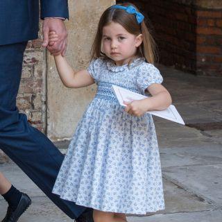 Il video della principessa Charlotte che parla ai fotografi