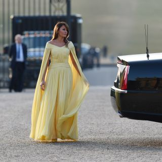 Melania Trump come una principessa Disney