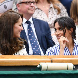 Kate e Meghan a Wimbledon come Diana e Sarah Ferguson