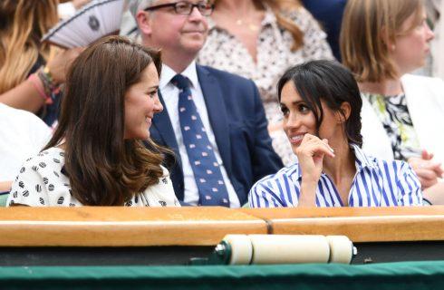 Kate Middleton e Meghan Markle insieme a Wimbledon come Lady Diana e Sarah Ferguson
