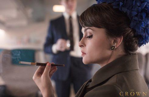 The Crown 3: la prima immagine di Helena Bonham Carter nel ruolo della principessa Margaret