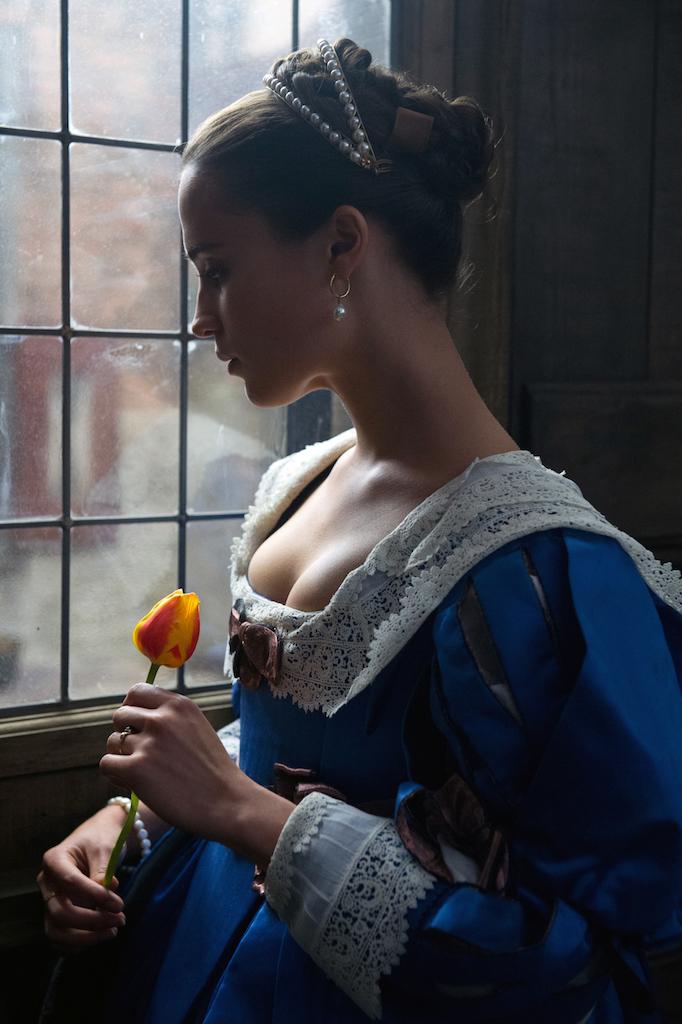 La ragazza dei tulipani, le foto del film