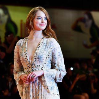 Emma Stone e le altre sul red carpet di Venezia 75