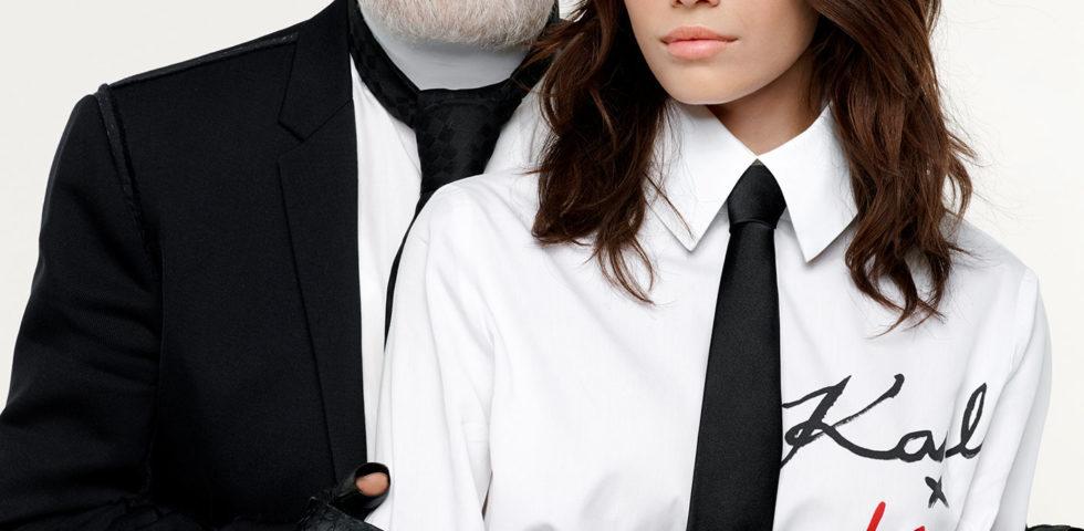La capsule collection di Kaia Gerber per Karl Lagerfeld