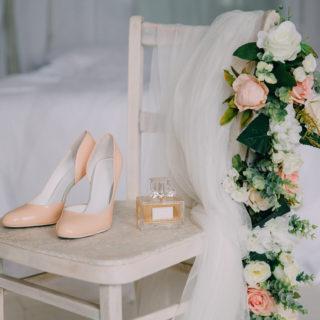 Le scarpe più belle per la sposa di settembre