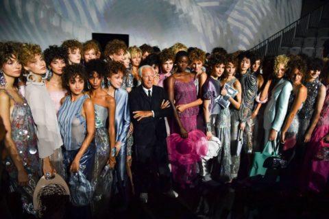 Giorgio Armani collezione Primavera-Estate 2019, le foto