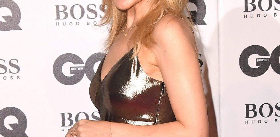 Kylie Minogue, primo red carpet con il fidanzato Paul Solomons ai GQ Men Of The Year Awards