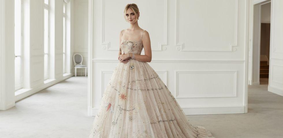 Chiara Ferragni  il secondo abito da sposa ispirato a quello di ... 4959380bddf