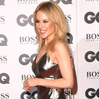 Kylie Minogue, red carpet con il fidanzato Paul Solomons