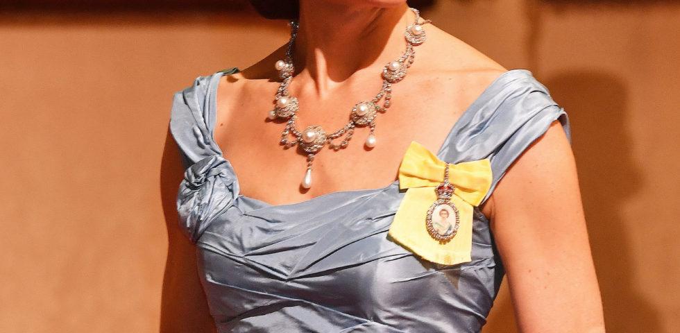 Kate Middleton: prova da regina con la tiara di Lady Diana