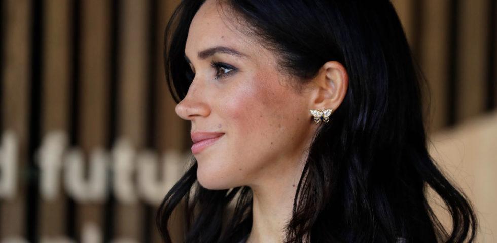 Maghan Markle omaggia Lady Diana indossando i suoi gioielli