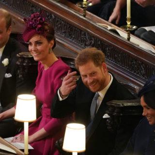Kate e Meghan alle nozze di Eugenie: look a confronto
